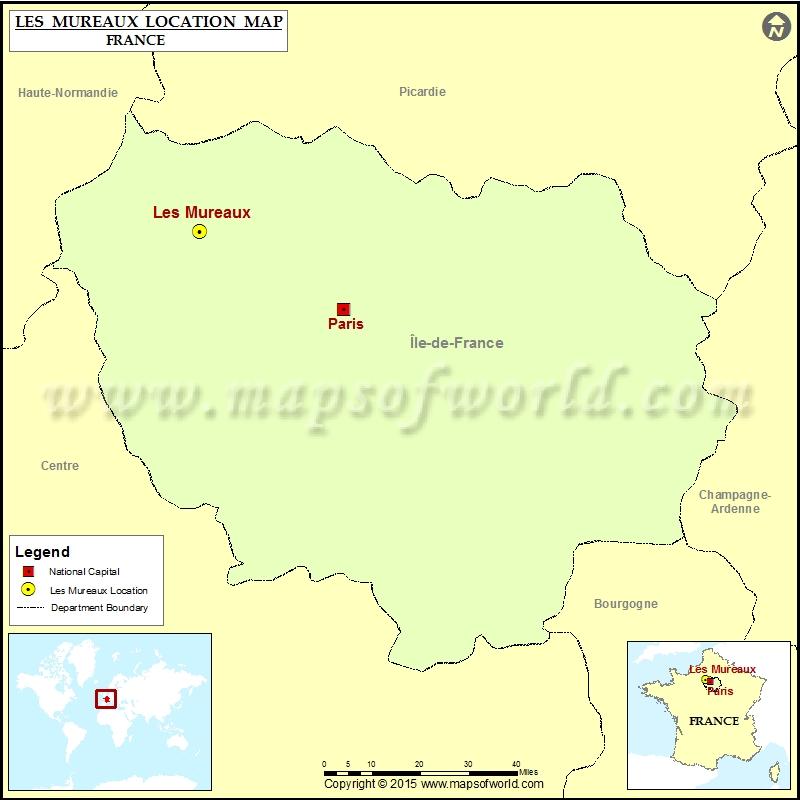 Where is Les Mureaux