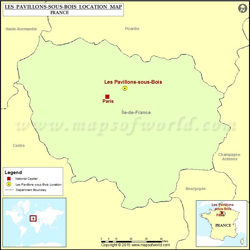 Where is Les Pavillons-sous-Bois