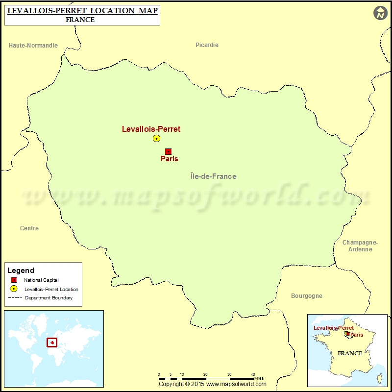 Where is Levallois-Perret