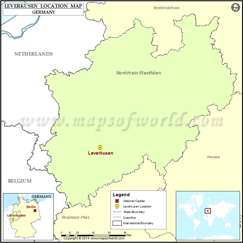 Where is Leverkusen