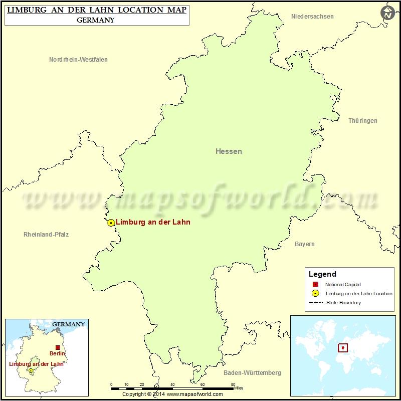 Where is Limburg an der Lahn