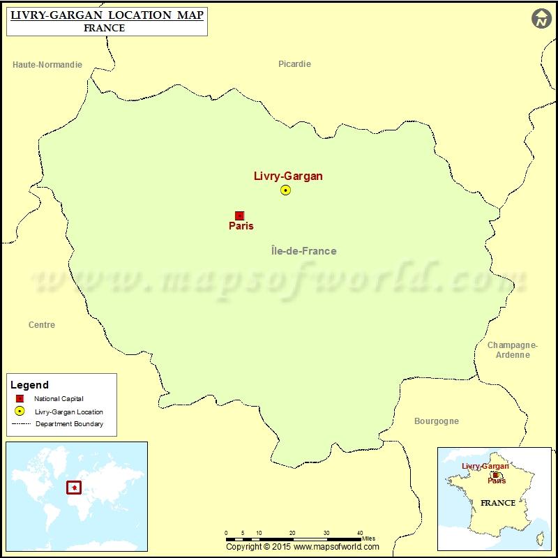 Where is Livry-Gargan
