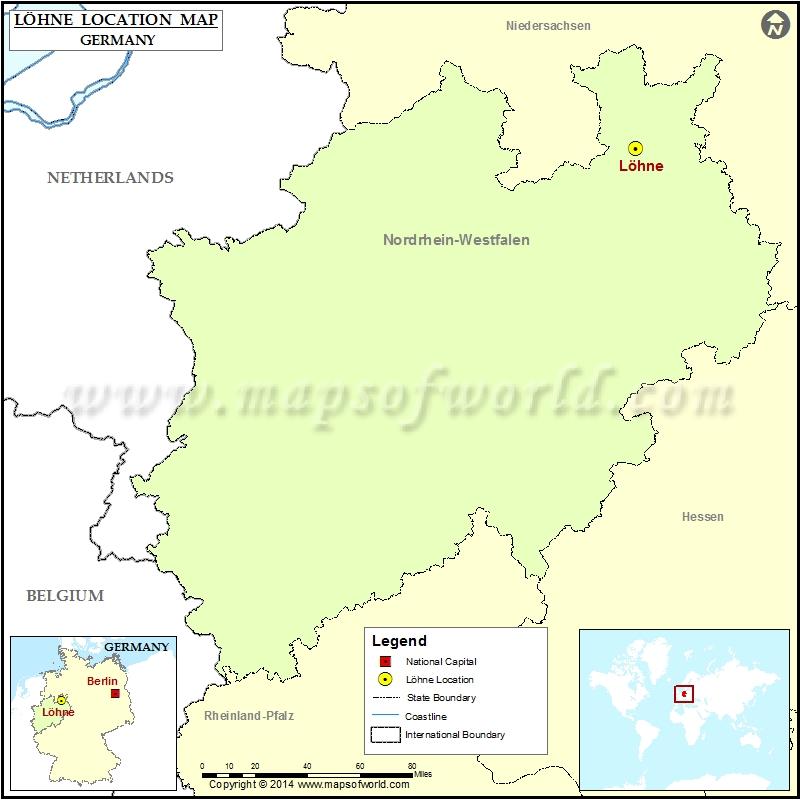 Where is Lohne Nordrhein Westfalen