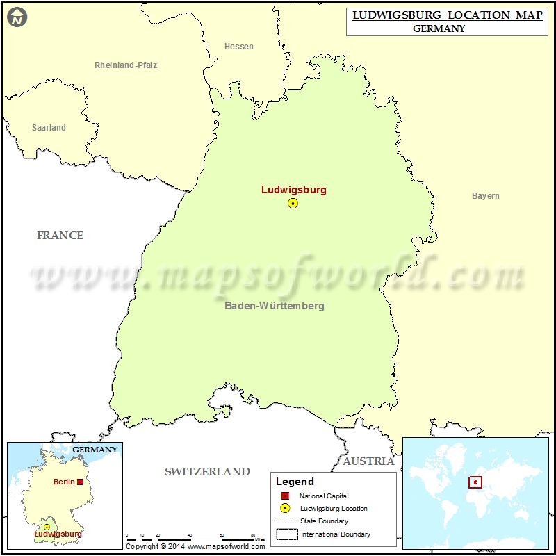 Where is Ludwigsburg