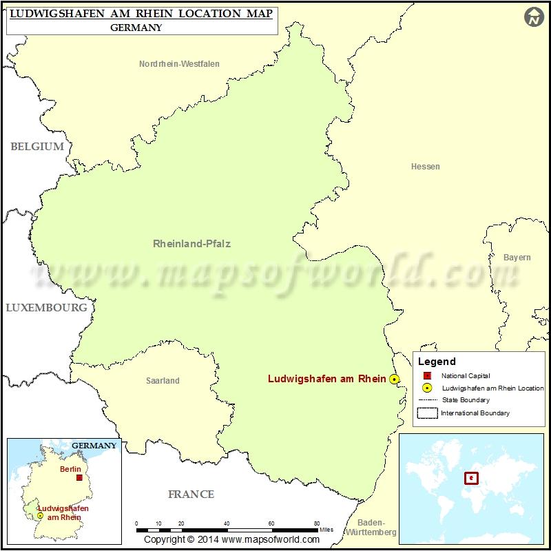 Where is Ludwigshafen am Rhein