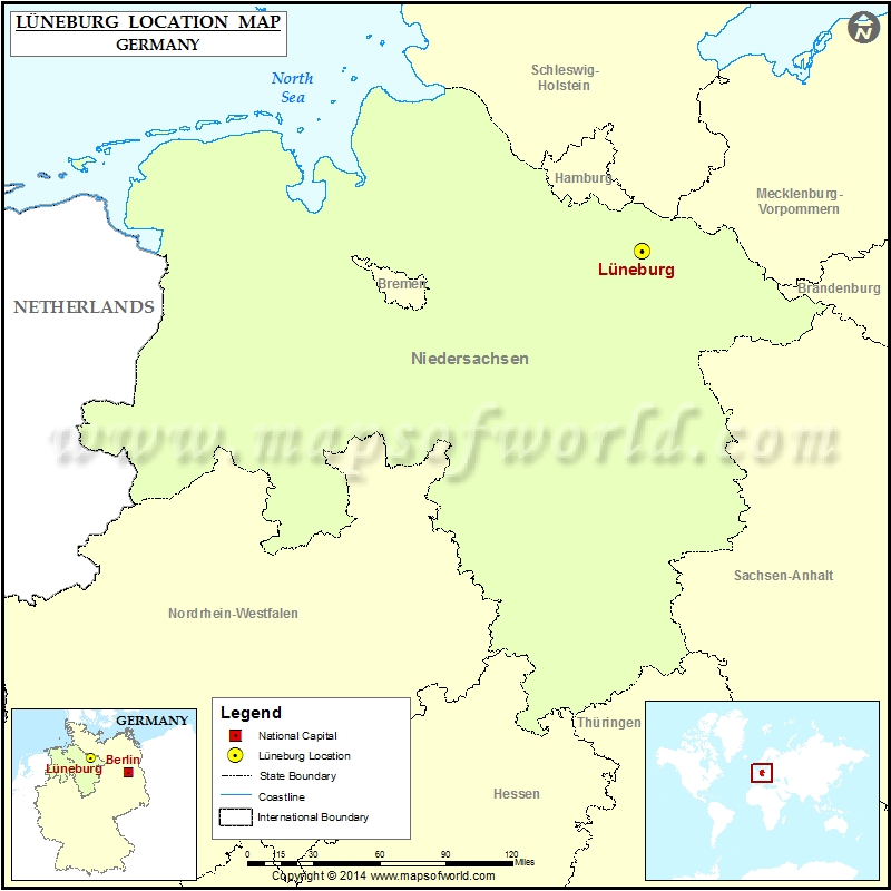 Where is Luneburg