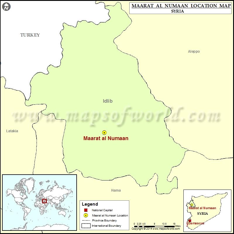 Where is Maarat al-Numaan