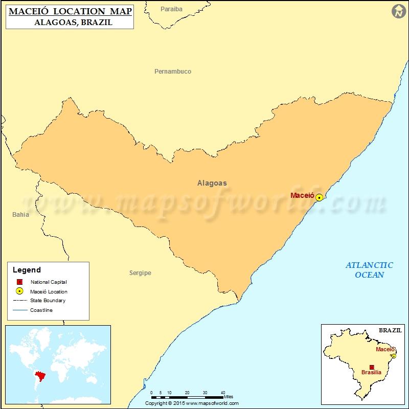 Where is Maceio