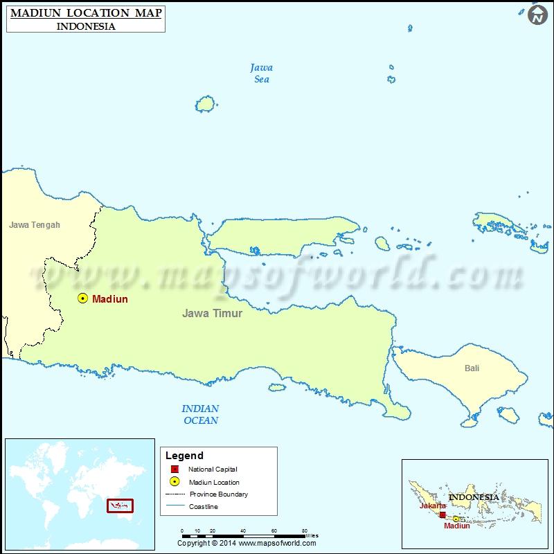 Where is Madiun