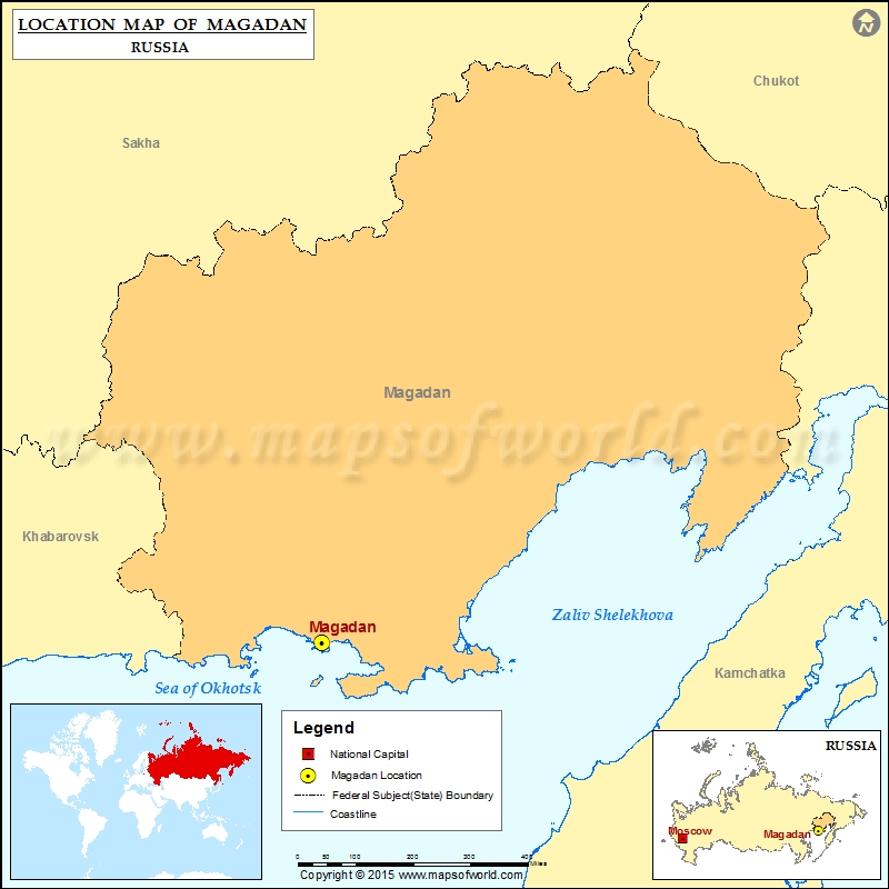Where is Magadan | Location of Magadan in Russia Map on zagorsk russia map, sakha russia map, kalmykia russia map, yurga russia map, ob russia map, altai krai russia map, yuzhno russia map, elista russia map, markovo russia map, perm russia map, russia province map, hawaii russia map, samarkand russia map, krasnogorsk russia map, salekhard russia map, omsk russia map, irkutsk russia map, kirovsk russia map, siberia map, sevastopol russia map,