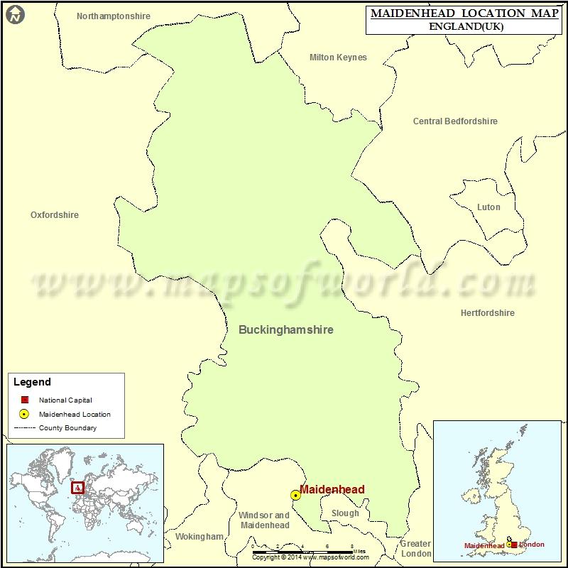 Where is Maidenhead