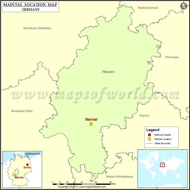 Where is Maintal