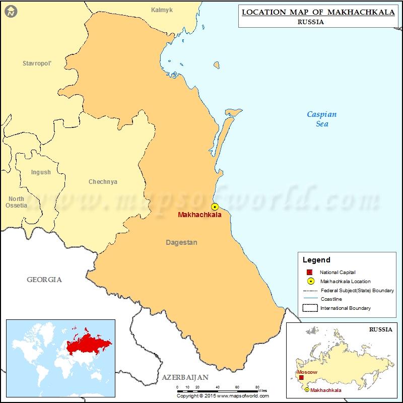Where is Makhachkala
