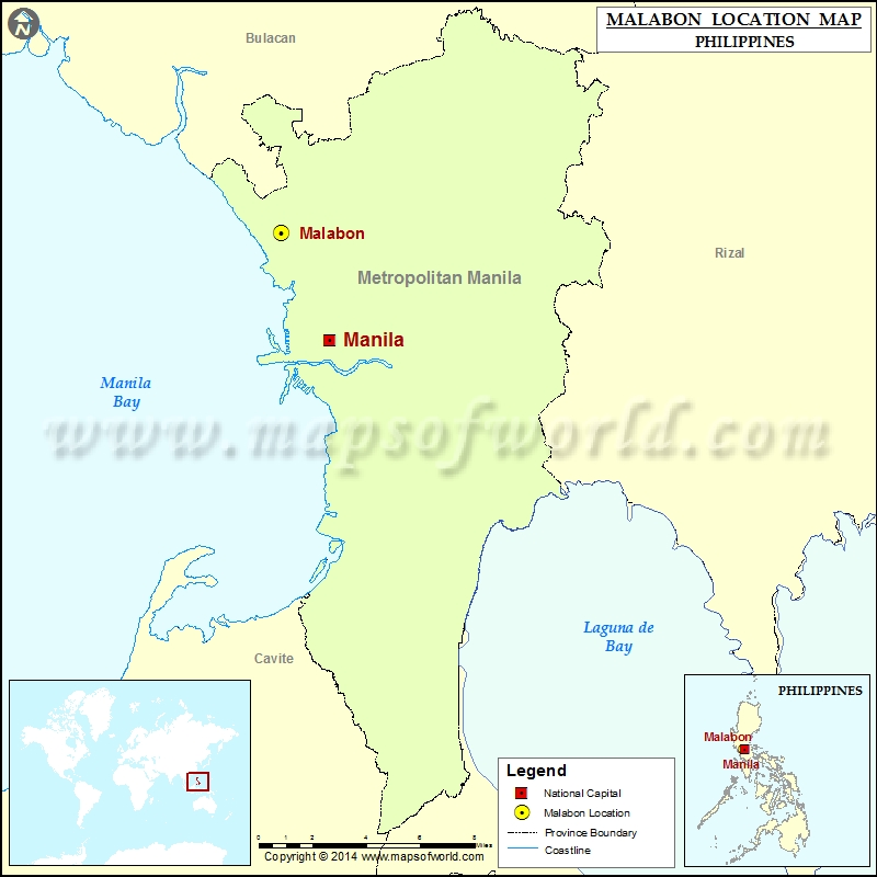 Where is Malabon