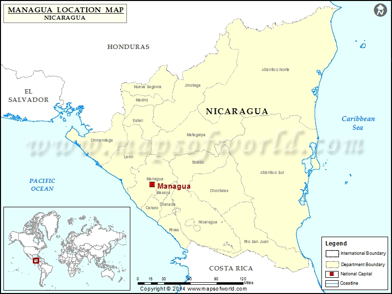 Where is Managua