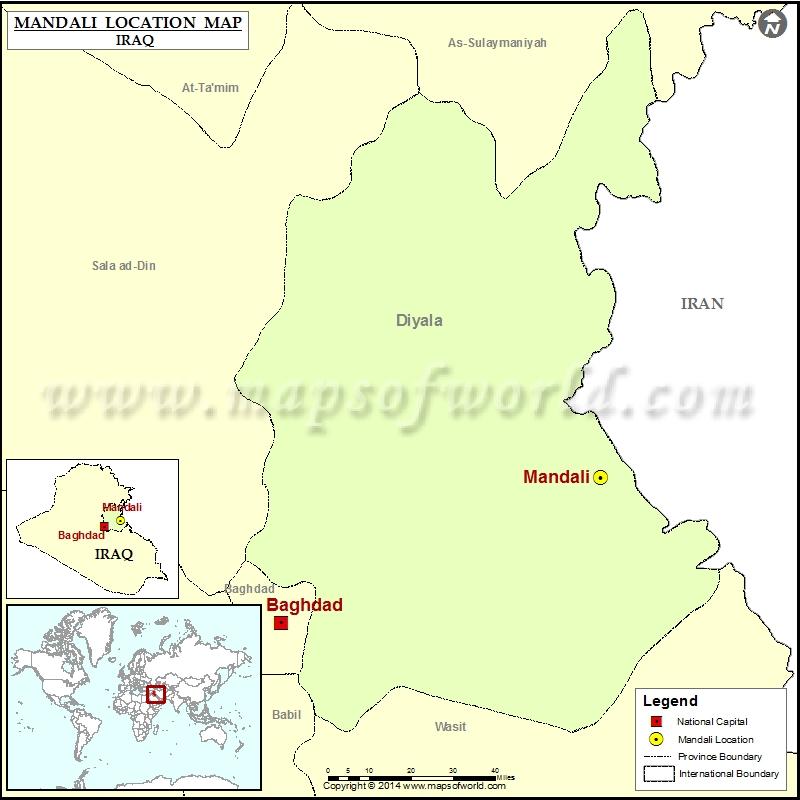 Where is Mandali