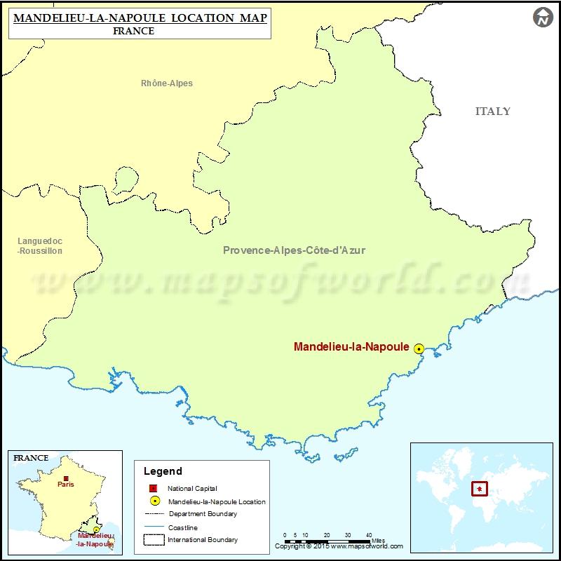 Where is Mandelieu-la-Napoule