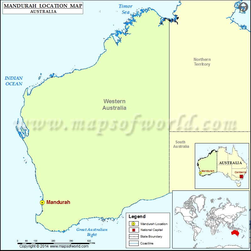 Where is Mandurah