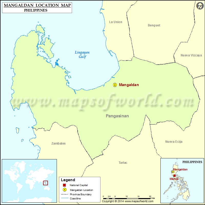 Where is Mangaldan