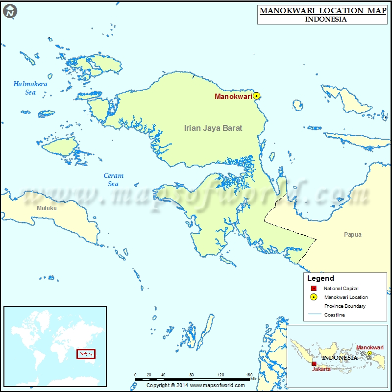 Where is Manokwari