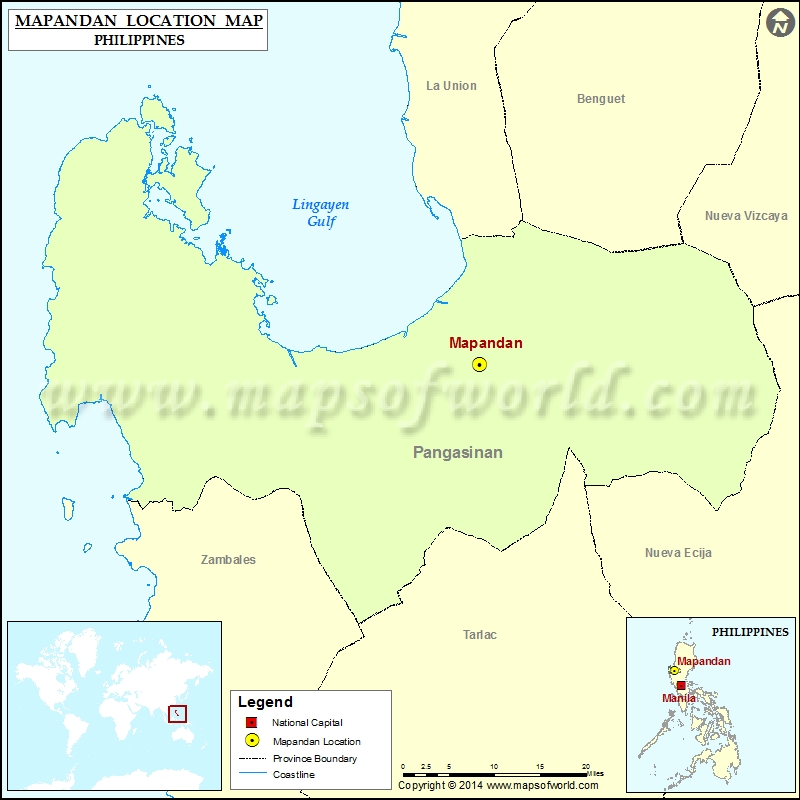 Where is Mapandan