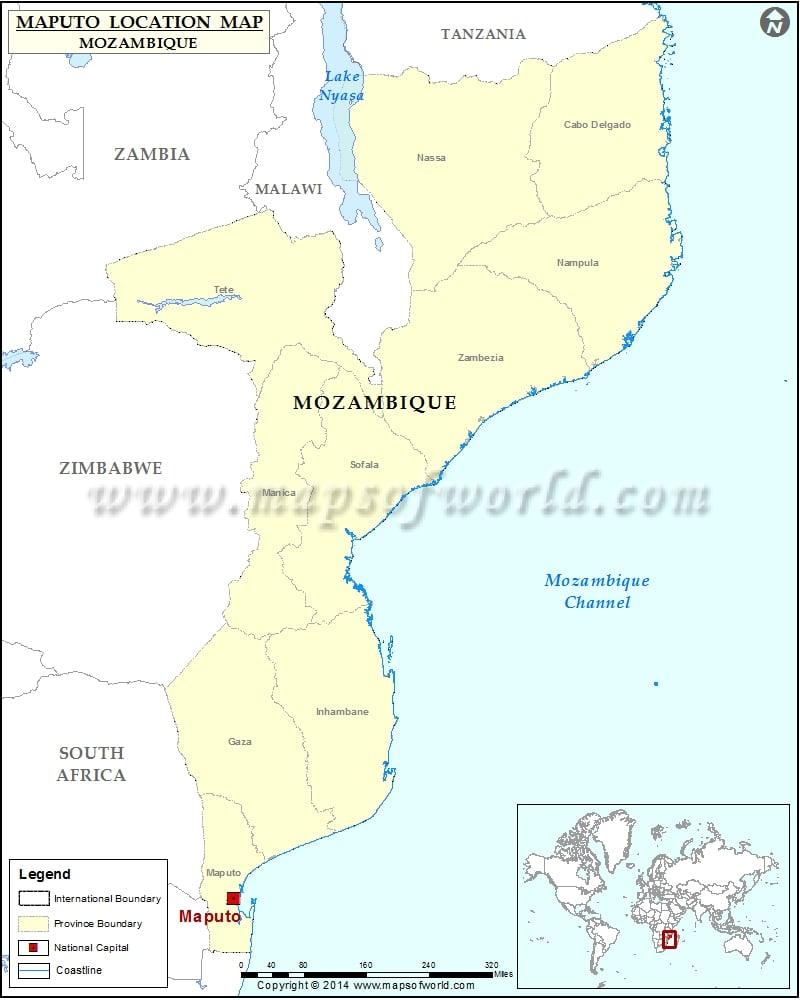 Where is Maputo