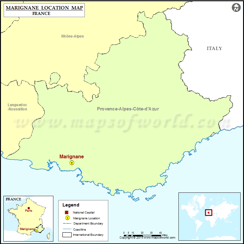 Where is Marignane