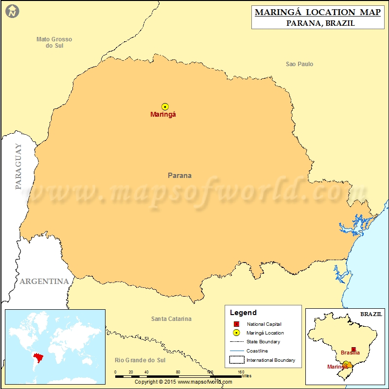 Where is Maringa