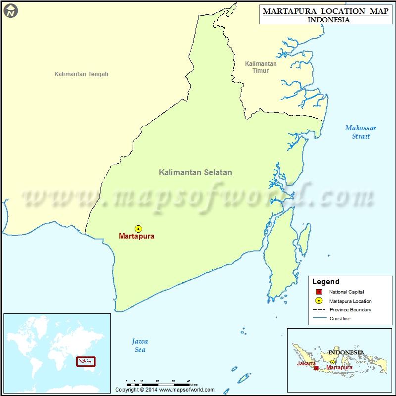 Where is Martapura