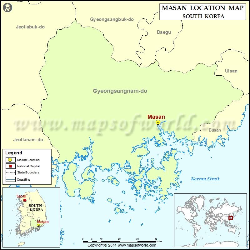 Where is Masan