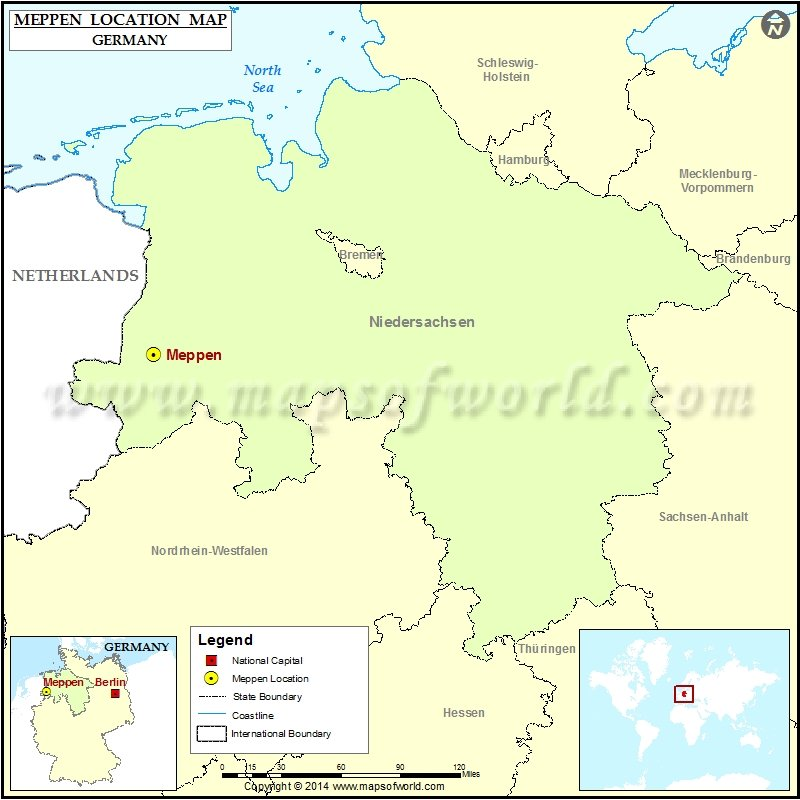 Where is Meppen