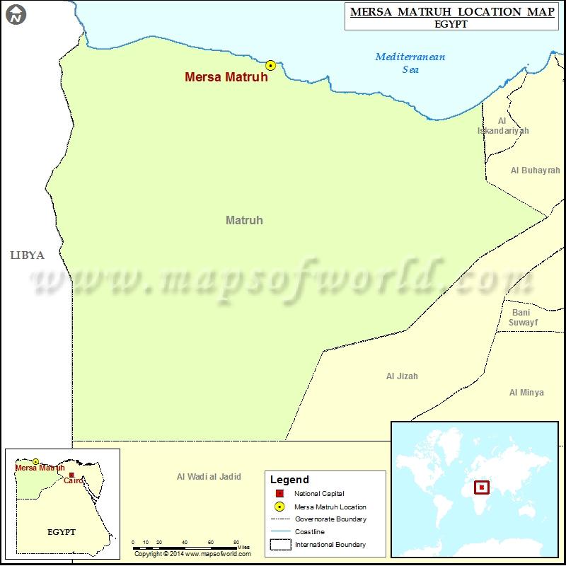 Where is Mersa Matruh