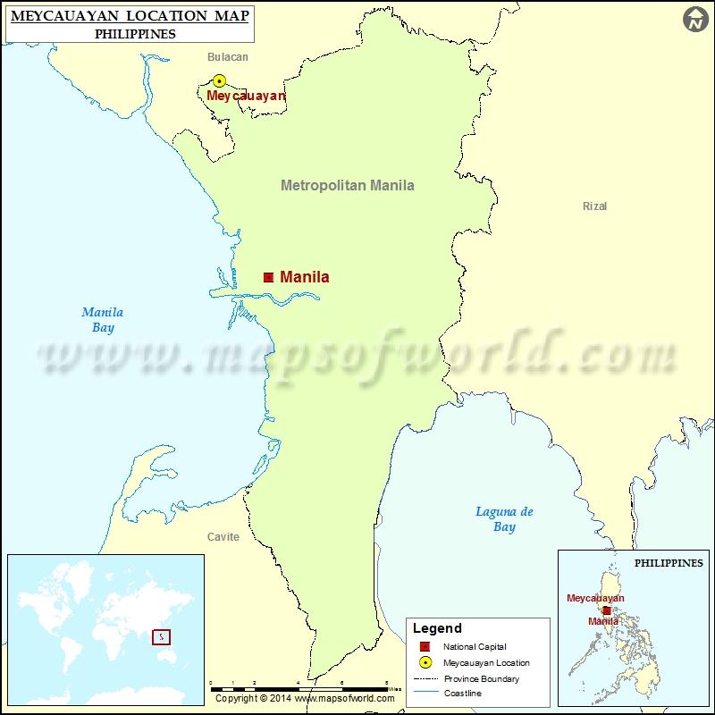 Where is Meycauayan