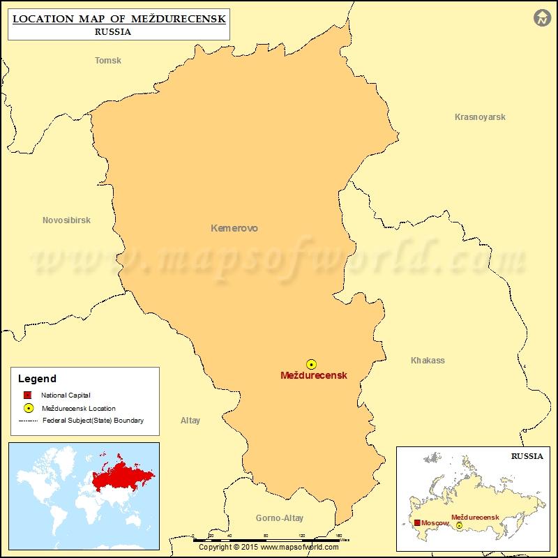 Where is Mezdurecensk