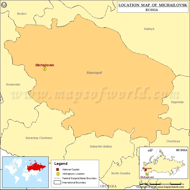 Where is Michajlovsk