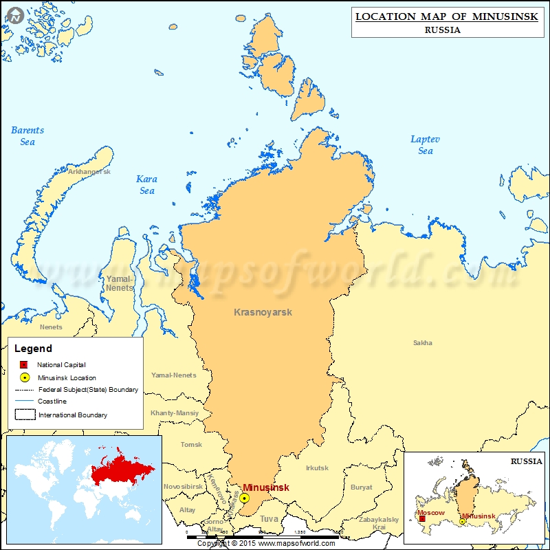Where is Minusinsk