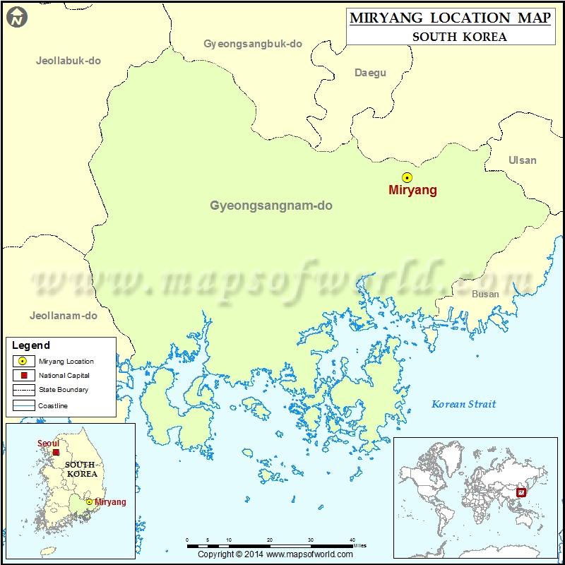 Where is Miryang