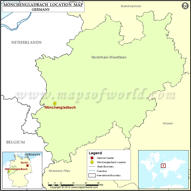 Where is Monchengladbach