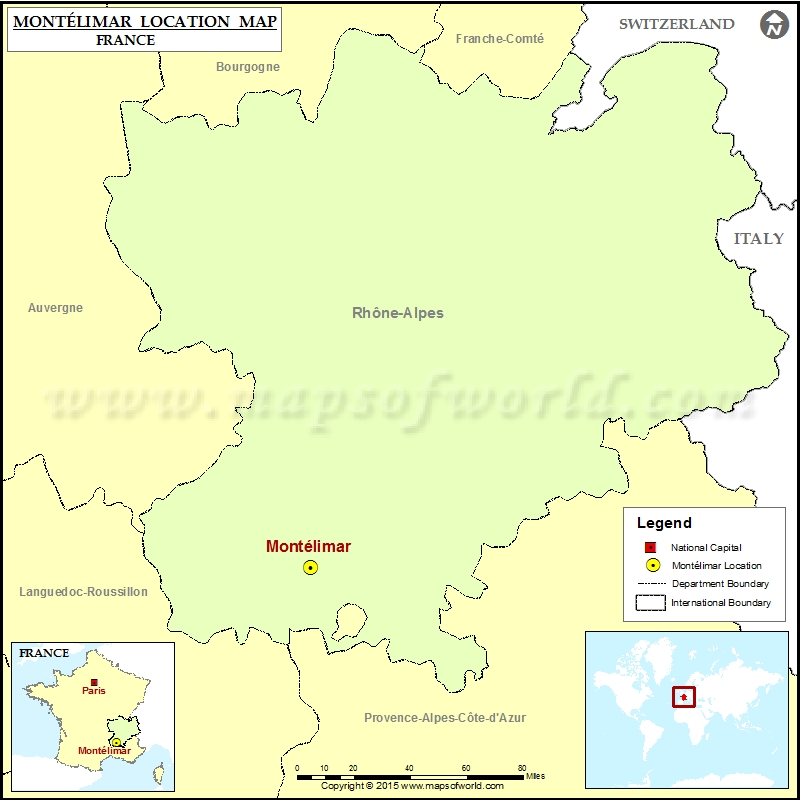 Where is Montelimar