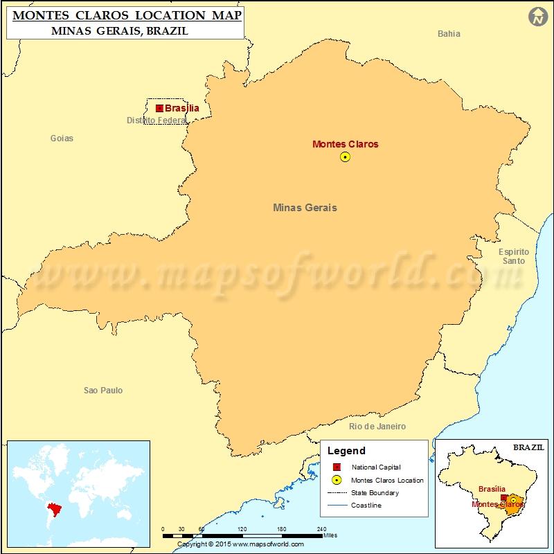 Where is Montes Claros