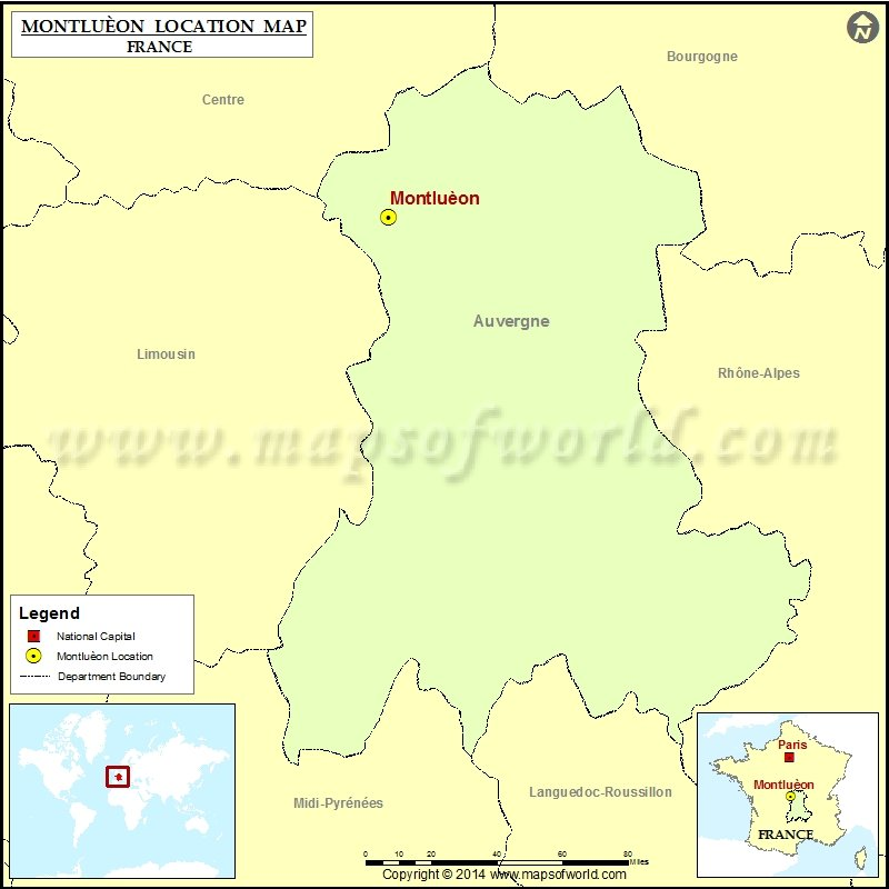 Where is Montlueon