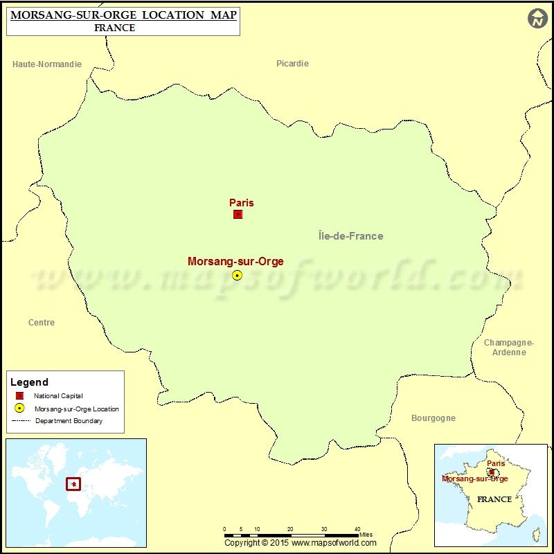 Where is Morsang-sur-Orge
