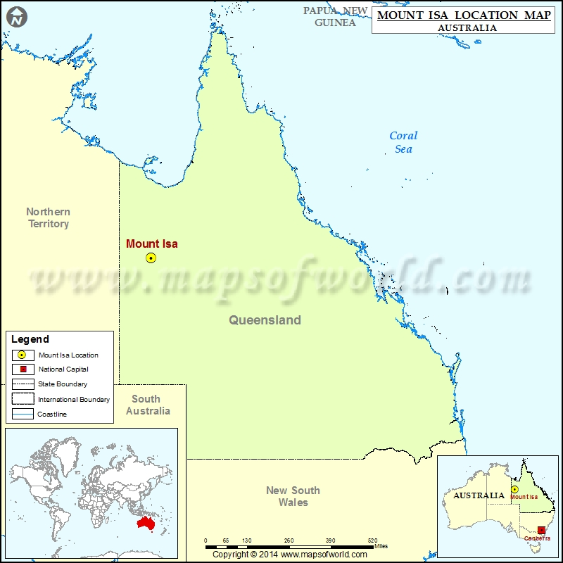 Where is Mount Isa