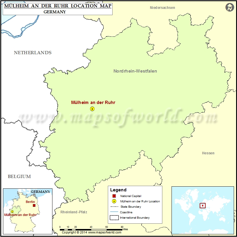 Where is Mulheim an der Ruhr