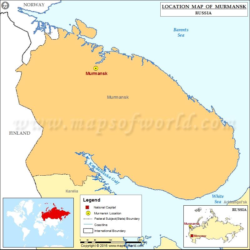 Where is Murmansk
