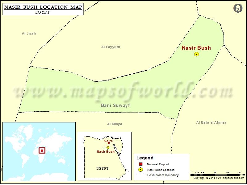 Where is Nasir Bush