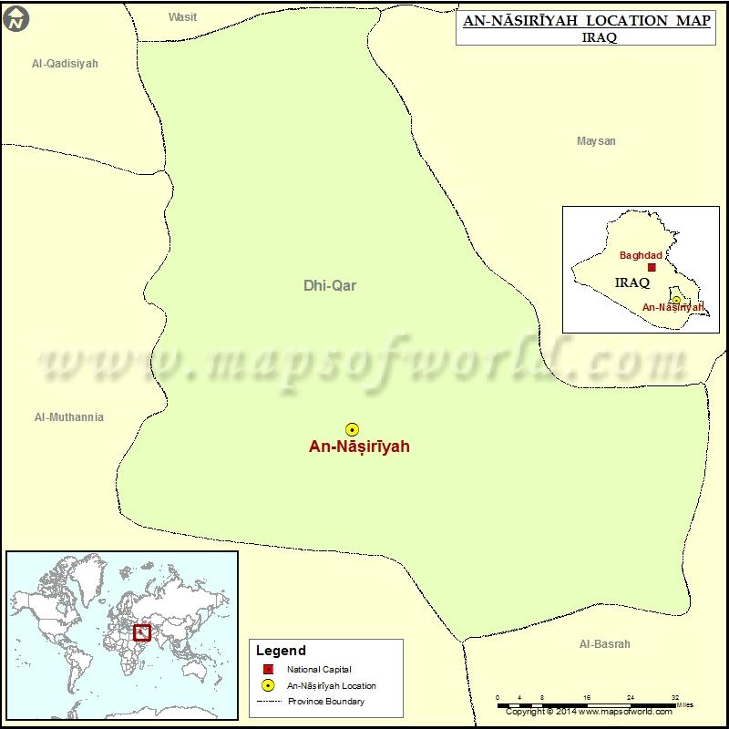 Where is Nasiriyah