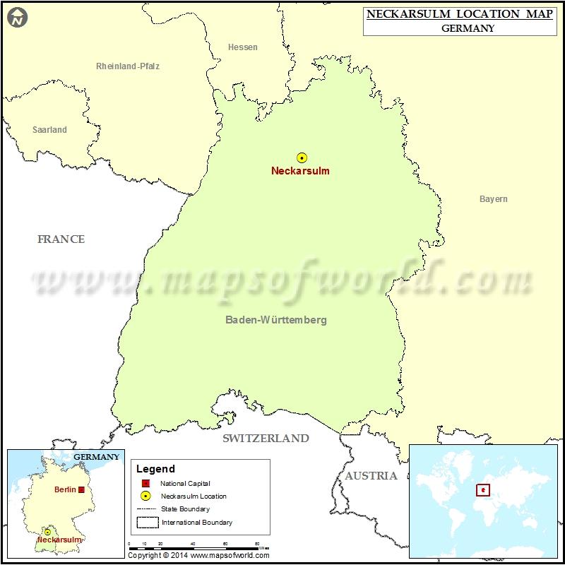Where is Neckarsulm