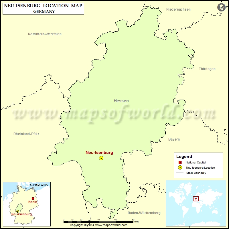 Where is Neu-Isenburg