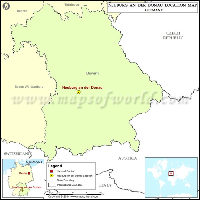 Where is Neuburg an der Donau